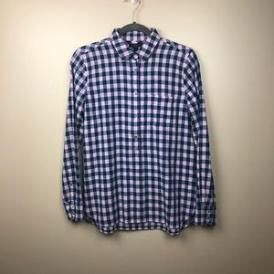 J. Crew 100% Cotton Long Sleeved Shirt Size 4